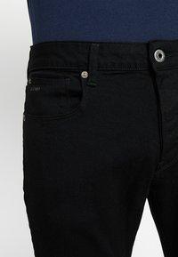 G-Star - 3301 SLIM FIT - Slim fit jeans - elto nero black superstretch/pitch black - 3