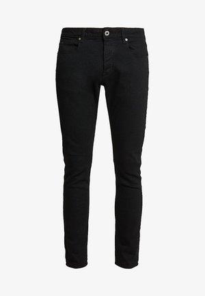 3301 SLIM FIT - Jean slim - elto nero black superstretch/pitch black