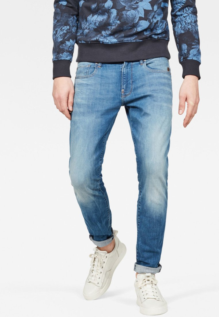 G-Star - REVEND - Straight leg jeans - blue