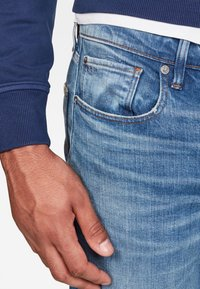 G-Star - 3301 STRAIGHT TAPERED - Jean droit - blue - 2