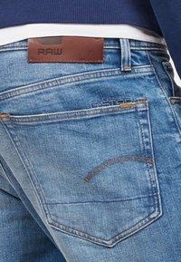 G-Star - 3301 STRAIGHT TAPERED - Jean droit - blue - 3