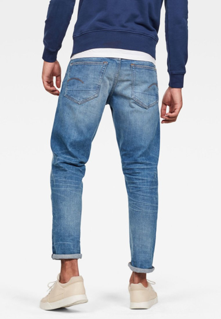 G-star 3301 Straight Tapered - Jeans Leg Blue Black Friday