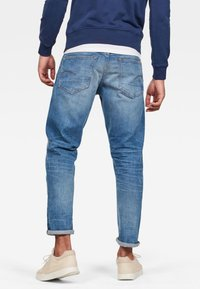 G-Star - 3301 STRAIGHT TAPERED - Jean droit - blue - 1