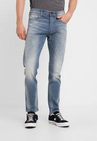 G-Star - 3301 SLIM - Slim fit jeans - elto novo superstretch - faded quartz - 0