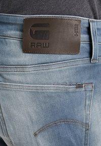 G-Star - 3301 SLIM - Slim fit jeans - elto novo superstretch - faded quartz - 4