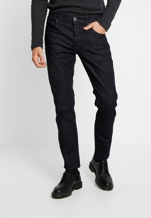 3301 SLIM - Jeans slim fit - nep stretch denim - rinsed