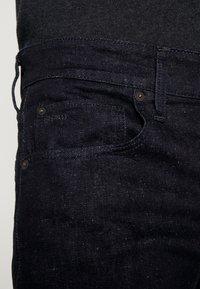 G-Star - 3301 SLIM - Džíny Slim Fit - nep stretch denim - rinsed - 3