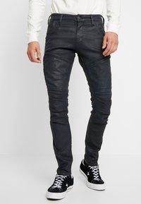 G-Star - RACKAM 3D SKINNY - Jeans Skinny Fit - loomer black - 0