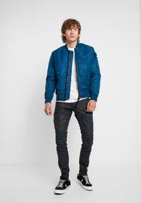 G-Star - RACKAM 3D SKINNY - Jeans Skinny Fit - loomer black - 1