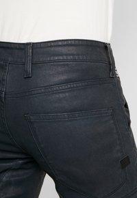 G-Star - RACKAM 3D SKINNY - Jeans Skinny Fit - loomer black - 5