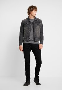 G-Star - RACKAM 3D SKINNY - Jeans Skinny - elto nero black - 1