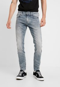G-Star - REVEND - Jeans Skinny Fit - faded industrial grey - 0