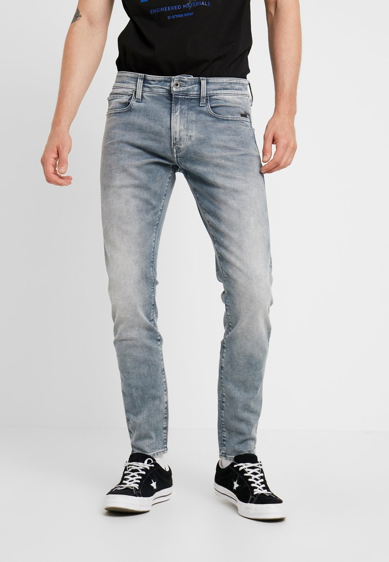 G-Star - REVEND - Skinny džíny - faded industrial grey