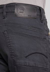 G-Star - 5650 3D RELAXED TAPERED - Relaxed fit jeans - kamden grey stretch denim - dry waxed pebble grey - 3