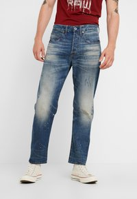 G-Star - 5650 3D RELAXED TAPERED - Relaxed fit jeans - kir denim o 2.0 antic faded lagoon - 0