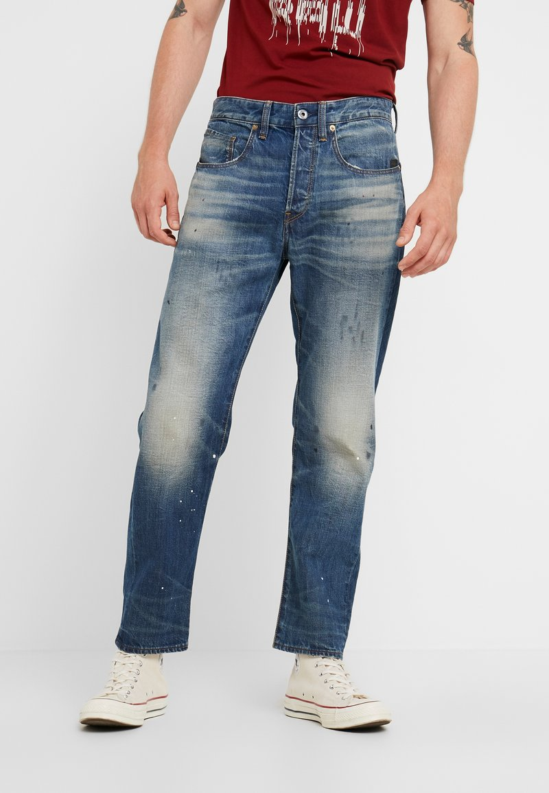 G-Star - 5650 3D RELAXED TAPERED - Relaxed fit jeans - kir denim o 2.0 antic faded lagoon