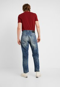G-Star - 5650 3D RELAXED TAPERED - Relaxed fit jeans - kir denim o 2.0 antic faded lagoon - 2
