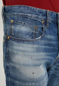 G-Star - 5650 3D RELAXED TAPERED - Relaxed fit jeans - kir denim o 2.0 antic faded lagoon - 3