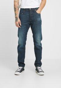 G-Star - 3301 SLIM - Jeans slim fit - denim/antic nile - 0