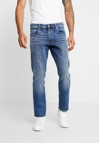G-Star - 3301 STRAIGHT TAPERED - Jeans straight leg - kir stretch denim - 0
