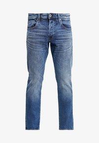 G-Star - 3301 STRAIGHT TAPERED - Jeans straight leg - kir stretch denim - 4
