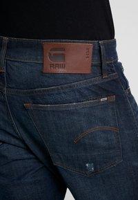 G-Star - 3301 STRAIGHT TAPERED - Jeans Straight Leg - kir stretch denim o antic nile - 4
