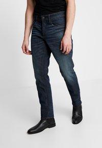 G-Star - 3301 STRAIGHT TAPERED - Jeans Straight Leg - kir stretch denim o antic nile - 0