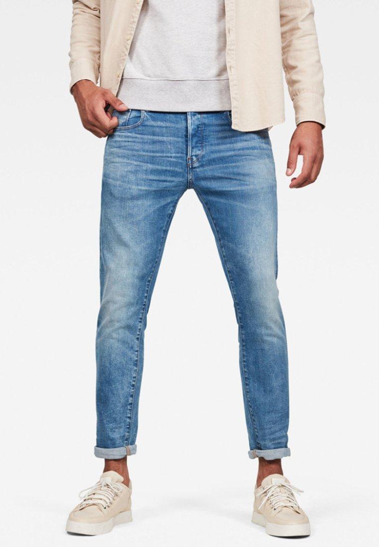 G-Star - 3301 SLIM - Slim fit jeans - blue