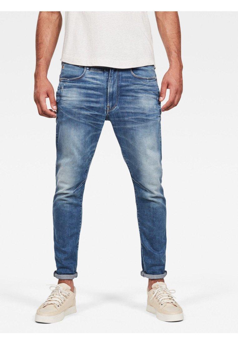 G-Star - D-STAQ  SLIM - Slim fit jeans - vintage azure