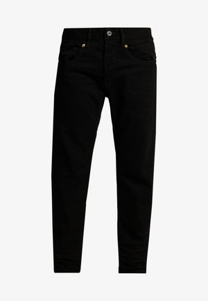 STRAIGHT TAPERED - Straight leg jeans - zelz black denim