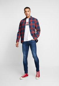 G-Star - 3301 DECONSTRUCTED SKINNY - Jeans Skinny Fit - brantley stretch denim - 1