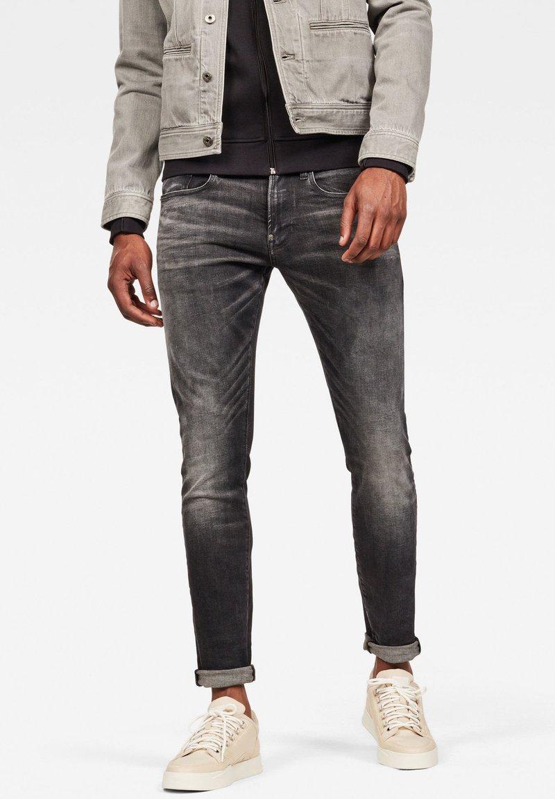 G-Star - REVEND - Jeans Slim Fit - antic black