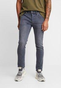G-Star - 3301 DECONSTRUCTED SLIM - Jeans Slim Fit - elto slate superstretch - medium aged - 0