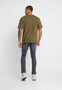 G-Star - 3301 DECONSTRUCTED SLIM - Jeans Slim Fit - elto slate superstretch - medium aged - 2