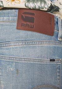 G-Star - 3301 STRAIGHT - Džíny Straight Fit - denim antic faded royal blue - 3