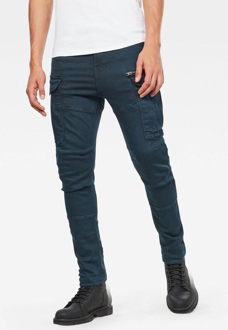 G-Star - ROVIC ZIP 3D SKINNY - Jeans slim fit - legion blue