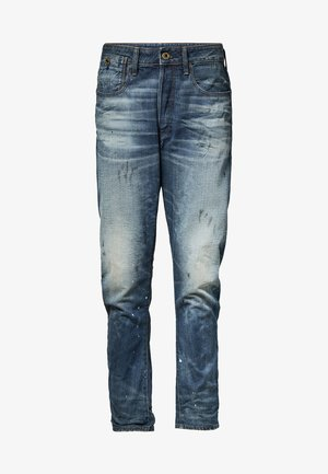 TYPE C 3D STRAIGHT TAPERED - Straight leg jeans - blue