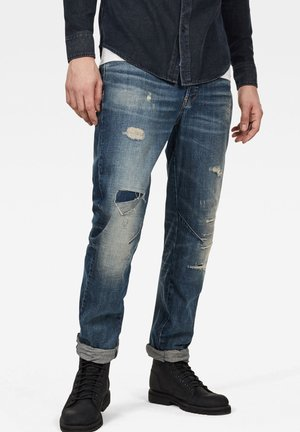 ARC 3D RELAXED TAPERED - Jean droit - dark blue