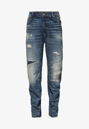 ARC 3D RELAXED TAPERED - Straight leg jeans - dark blue