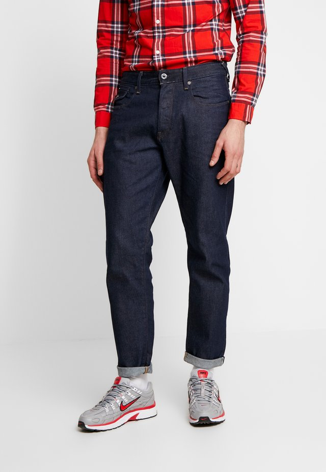 MORRY 3D RELAXED TAPERED - Jeansy Relaxed Fit - japanese stretch selvedge denim