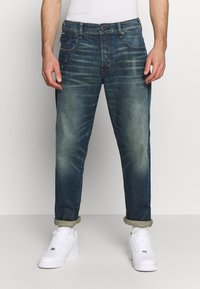 G-Star - MORRY 3D RELAXED TAPERED - Džíny Relaxed Fit - dark blue denim - 0