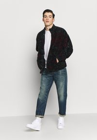 G-Star - MORRY 3D RELAXED TAPERED - Džíny Relaxed Fit - dark blue denim - 1