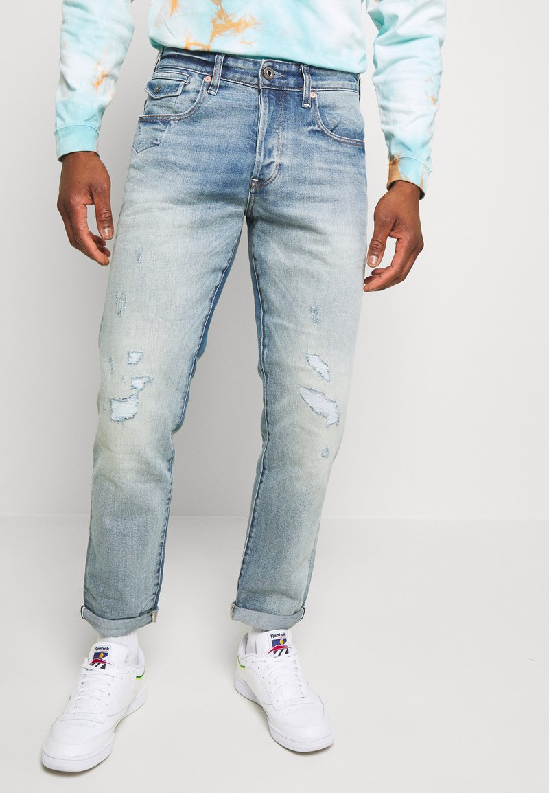 G-Star - MORRY 3D RELAXED TAPERED - Džíny Relaxed Fit - japanese stretch selvedge dnm - vintage stream restored