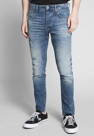 SLIM - Slim fit jeans - denim worn in blue faded