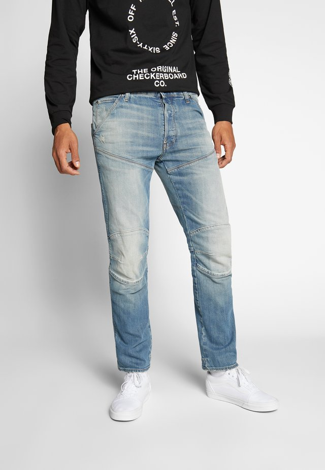 3D STRAIGHT - Jeansy Straight Leg - antic faded royal blue