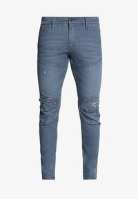 wess grey superstretch - antic ripped chert grey