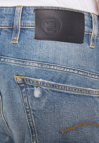 G-Star - Džíny Relaxed Fit - kir stretch denim worn in ripped blue faded - 3