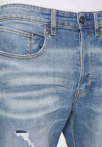 G-Star - Džíny Relaxed Fit - kir stretch denim worn in ripped blue faded - 5