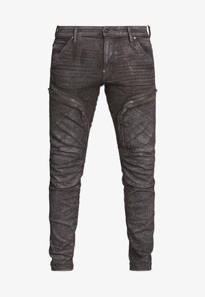 AIR DEFENCE ZIP SKINNY - Slim fit jeans - grey denim