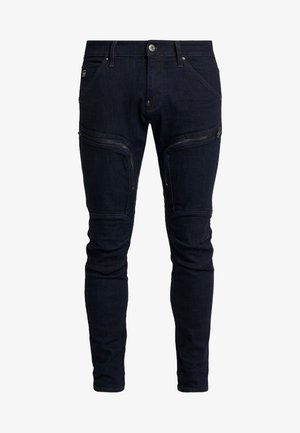 AIR DEFENCE ZIP - Slim fit jeans - raw denim